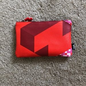 Tetris Style Cosmetic Bag Clutch